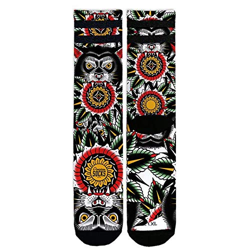 American Socks Wolf - Mid High