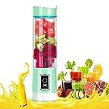 Mini licuadora de zumos de Inter Fast, botella de agua de 500 ml, licuadora eléctrica portátil de mano, inalámbrica, recargable por USB