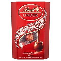 Idea Regalo - Lindt - Cioccolatini Lindor al cioccolato al latte (200g)