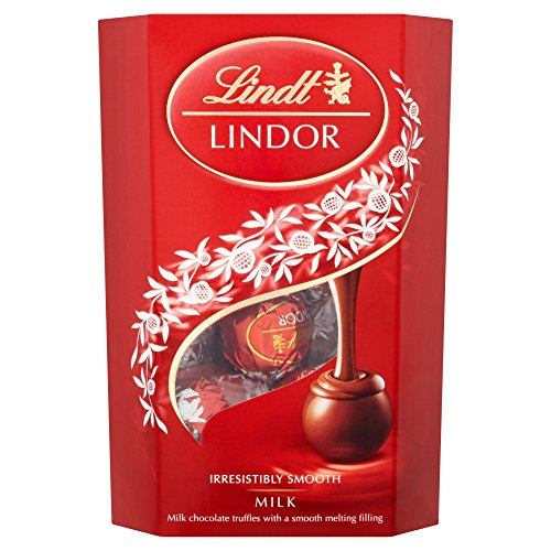 Lindt - Cioccolatini Lindor al cioccolato al latte (200g)