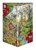 Heye 29414 Hugo Prades, Fairy Tales - Puzzle Triangular, 1500 Piezas (KV&H Verlag)
