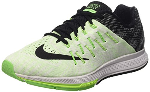 Nike Air Zoom Elite 8, Zapatillas de Running Hombre, Negro/Verde/Blanco (Sail/Black-Ghst Green-Vltg Grn), 48 1/2