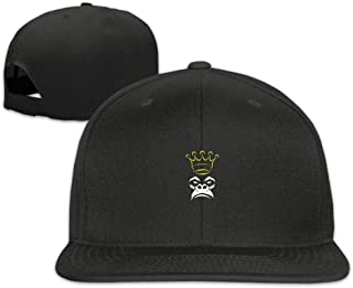 Nordic Runes Monkey Funny Snapback Hats for Men Fitted Baseball Cap for Youth