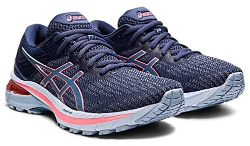 ASICS GT-2000 9, Zapatos para Correr Mujer, Thunder Blue Storm Blue, 40.5 EU