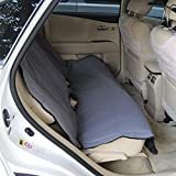 Yes4All PJLZ Waterproof Back Seat Cover for Pets Padded & Quilted-MD-257, Gray by Yes4All