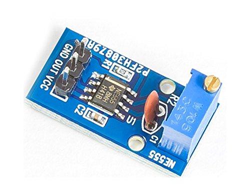 MissBirdler NE555 Mini Puls Generator Zeitgeberschaltung Taktgeber für Arduino Raspberry Pi