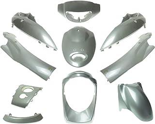 2EXTREME Verkleidungskit silber 10teilig kompatibel für BAOTIAN BT49QT 9, BT50QT 9