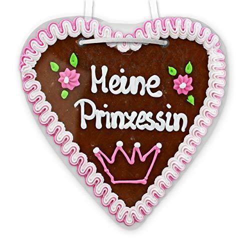 Lebkuchenherz - 21cm - Meine Prinzessin