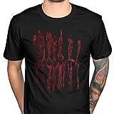 Photo de Cid Bloodbath T-Shirt Homme Noir FR : S (Taille Fabricant : S)