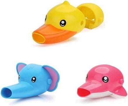 RACHLE S lavemains pour enfants rallonge robinet abreuvoir dessin anim/é animal aide b/éb/é /à se laver les mains