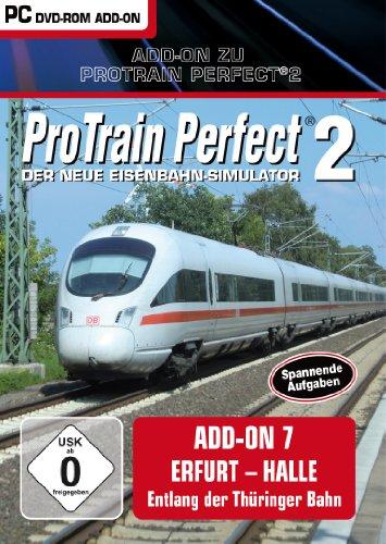 Pro Train Perfect 2 - AddOn 7 Erfurt - Halle - [PC]
