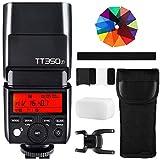 Godox TT350F Mini Cámara Flash 2.4G HSS 1 / 8000s TTL GN36 para cámaras Fujifilm XPro2 XT20 XT2 XT1 XPro1 XT10 XE1 XA3 X100F X100T