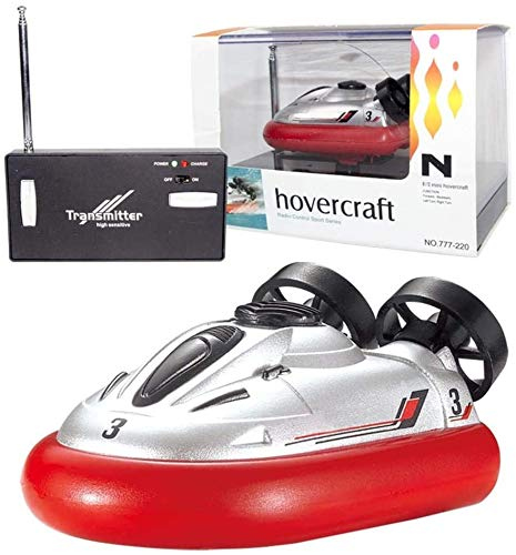 Bck Impermeable RC Boat RC Hovercraft Boat Mini RC Submarino Barco eléctrico...
