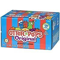 100-Count Otter Pops Gluten & Fat Free Ice Pops, 1 Oz