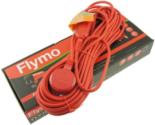 Flymo FLY102 15 m vervangingskabel voor sommige Flymo elektrische grasmaaiers - Oranje