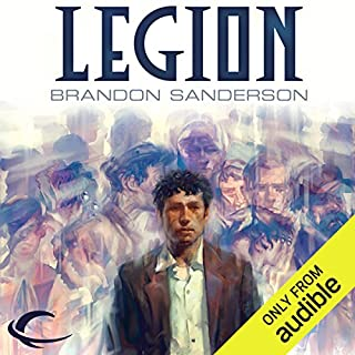 Legion                   By:                                                                                                                                 Brandon Sanderson                               Narrated by:                                                                                                                                 Oliver Wyman                      Length: 2 hrs and 6 mins     7,742 ratings     Overall 4.3
