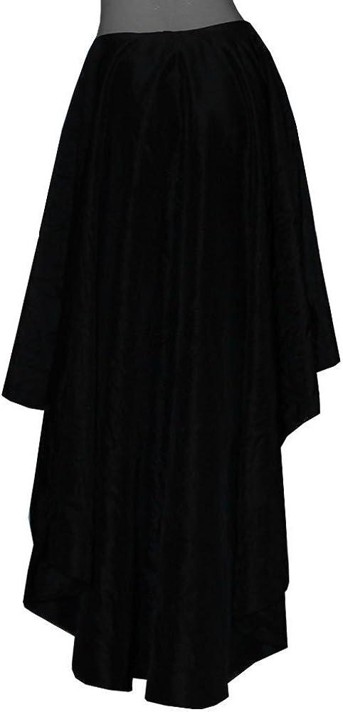 E K Women's high low taffeta skirt Mullet evening formal prom bridesmaid skirt