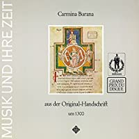 CARMINA BURANA -(reissue) by Thomas Binkley (2015-04-08)