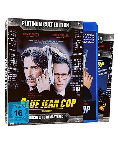 Blue Jean Cop - Limitiert auf 666 Stück - Platinum Cult Edition - Uncut & HD Remastered (+ DVD) [Blu-ray]