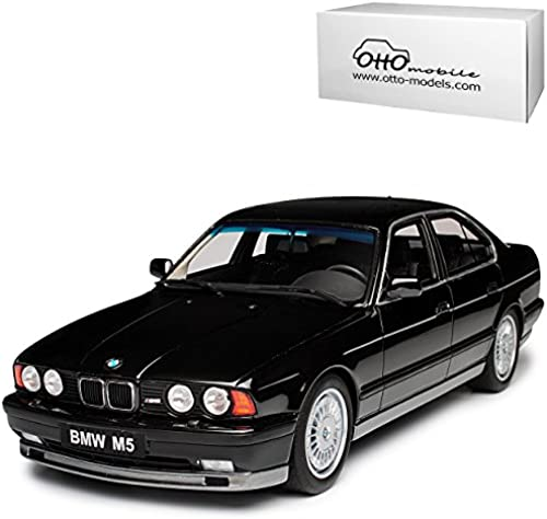 Unbekannt B-M-W 5er E34 M5 Phase 1 Limousine Schwarz1987-1996 Nr 690 1 18 Otto Mobile Modell Auto