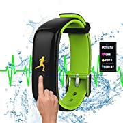 Dax-Hub E07¡¾IP-67¡¿ wasserdichte, intelligente Uhr, die eigens zum Schwimmen und Radfahren entwickelt wurde, mit Bluetooth 4.0, Kalorienmesser und Sport-Tracker, kompatibel mit Android 4.3 /4.4 /4.5 /5.0 /5.1, IOS 7.1 / 8.0 / 8.1 / 4s / 5s / 6 / 6S / 7 / 7Plus X7-Viola
