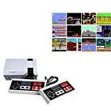 Oriflame 620 Retro Classic Video Game Console AV Output Mini NES Console 620 in 1 Built-in Plug and Play Video Games...