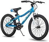 Hiland Climber - Bicicletta per bambini da 20 pollici, per bambini e bambine, 7-15 anni, con freno a V, velocità singola, colori atossici