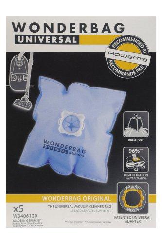 SEB Lot de 2 Boites de 5 sacs universels traîneau wonderbag Classic