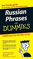 Russian Phrases For Dummies by Andrew D. Kaufman Serafima Gettys Ph.D.(2007-09-04)
