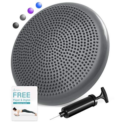 PHYLLEXI Balancekissen Wackelkissen - Kerntrainer für Büro Stuhl Home ballkissen für sensorische Kinder mit Luftpumpe
