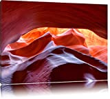 Antelope Canyon Arizona Format: 120x80 auf Leinwand, XXL