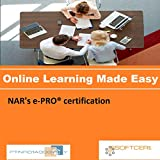 PTNR01A998WXY NAR's e-PRO certification Online Certification Video Learning Made Easy