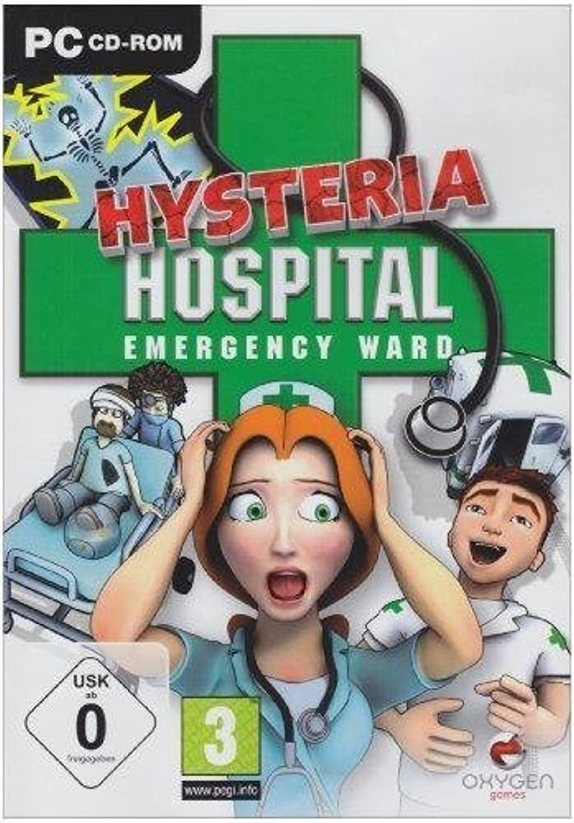 蓋ドラッグ水銀のHysteria Hospital: Emergency Ward (PC CD) by OG International [並行輸入品]
