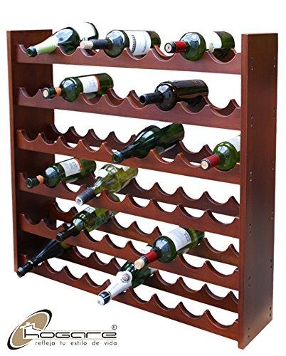 Cava de Madera 100% para 54 Botellas Color Nogal