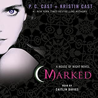 Marked     House of Night, Book 1              By:                                                                                                                                 P. C. Cast,                                                                                        Kristin Cast                               Narrated by:                                                                                                                                 Caitlin Davies                      Length: 9 hrs and 49 mins     911 ratings     Overall 4.5