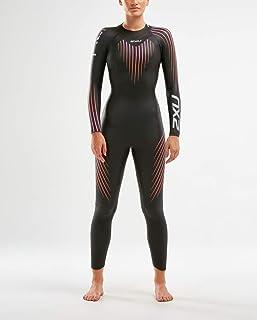 2XU Women's Ww4994c-P1 Propel Wetsuit, Black/Sunset Ombre, Small Medium