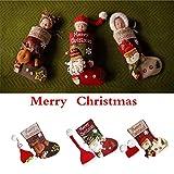 S-TROUBLE Lindo Estilo navideño bebé Infantil Hecho a Mano Crochet Gorro +...