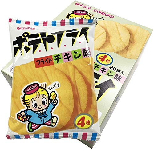 東豊製菓ポテトフライフライドチキン11g×20袋