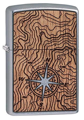 Zippo Feuerzeug 207 Woodchuck Compass, Design, 5,83,81,2
