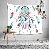 DOTBUY Tapisserie Murales, Décoration Tenture Couverture Pique-Nique Polyester Nappe Serviette de Plage Yoga Indienne Halloween Tapestry (Grand (150 x 200cm), C)