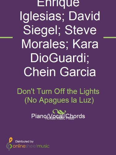 Don't Turn Off the Lights (No Apagues la Luz) (English Edition)