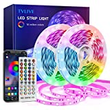 TVLIVE LED Strip 20m, RGB LED Streifen, Led...