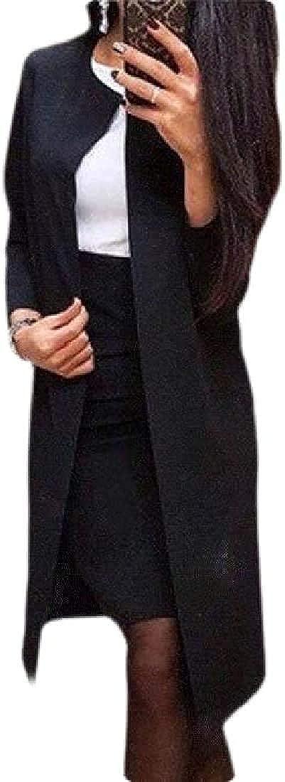 Women's 2 Piece Skirt Suit Set Office Lady Slim Fit Blazer and Pencil Skirt