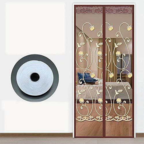 Magnetisch screenshot magnetisch deurgordijn klamboe, geventileerde horren, zonwering tegen vliegen en muggen, automatisch sluitende gordijnen