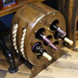 Barriles de Vino de Madera, botellero de Madera Modelado de Barril de Madera...