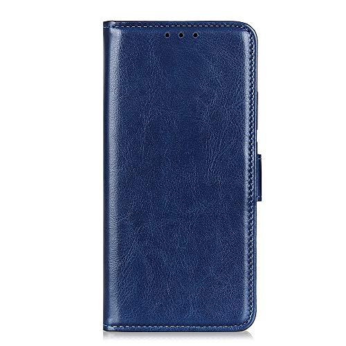 KJcase Leder Hülle für Samsung Galaxy S11 Ultra Slim Handyhülle Case Bookstyle Ledertasche Hülle Flip Leder PU Vollschutz Schutzhülle für Samsung Galaxy S11 Blau