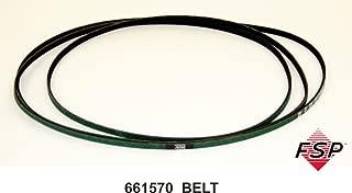 Whirlpool 661570V Dryer Drum Belt, Black