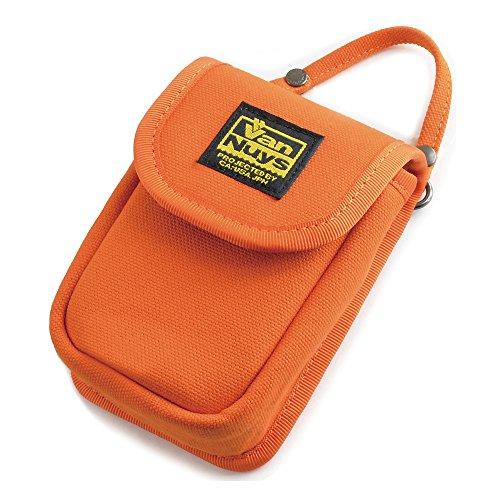 バンナイズ (VanNuys) SONY Cyber-shot RX100M7 / RX100M6 / RX100M5 / RX100M4 / RX100M3 / RX100M2 / RX100 用 縦型 キャリング ケース < 帆布 の バッグ 用 スト
