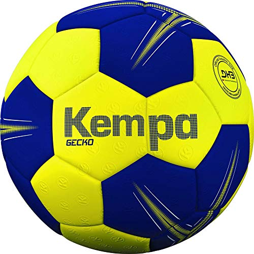 Kempa Unisex– Erwachsene Gecko Handball, Ball, gelb, 1