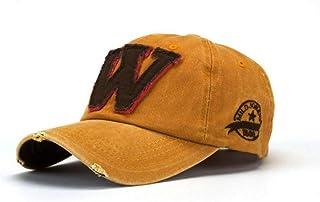 MKJNBH Fashion Unisex Boy Girls Summer Soft Cute Letter W Hockey Baseball Caps Hip Hop Hats